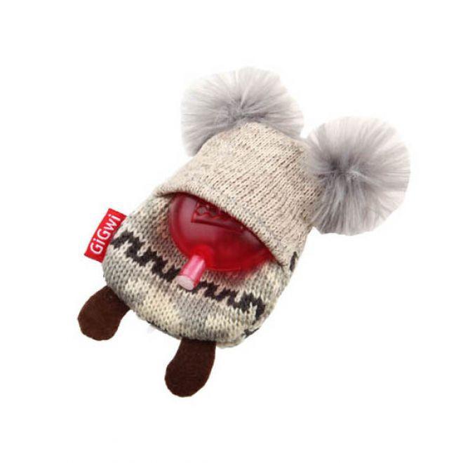 GiGwi PlushFriendz Knitted Koala (Grå)