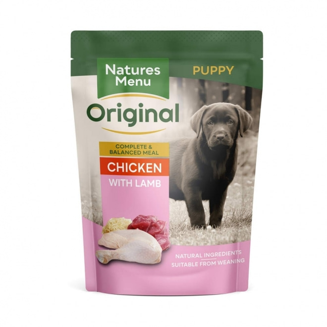 Natures:menu Dog Junior Chicken & Lamb 300 g