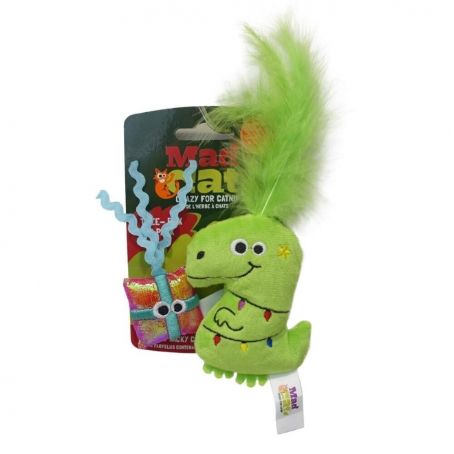 R2PPet MadCat Holiday Tree-Rex 2-pack