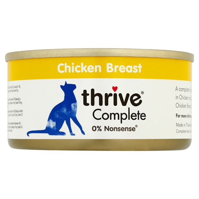 Thrive Adult Kycklingbröst (75 gram)