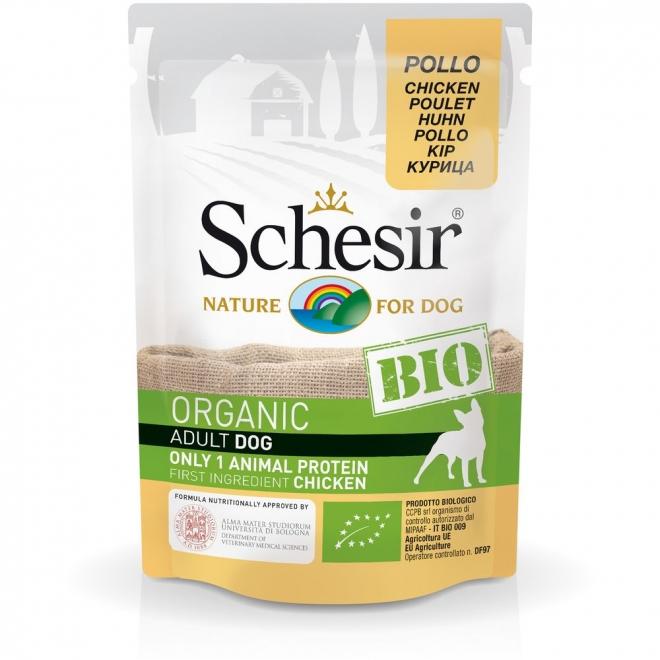 Schesir Bio Dog Adult Chicken (85 g)