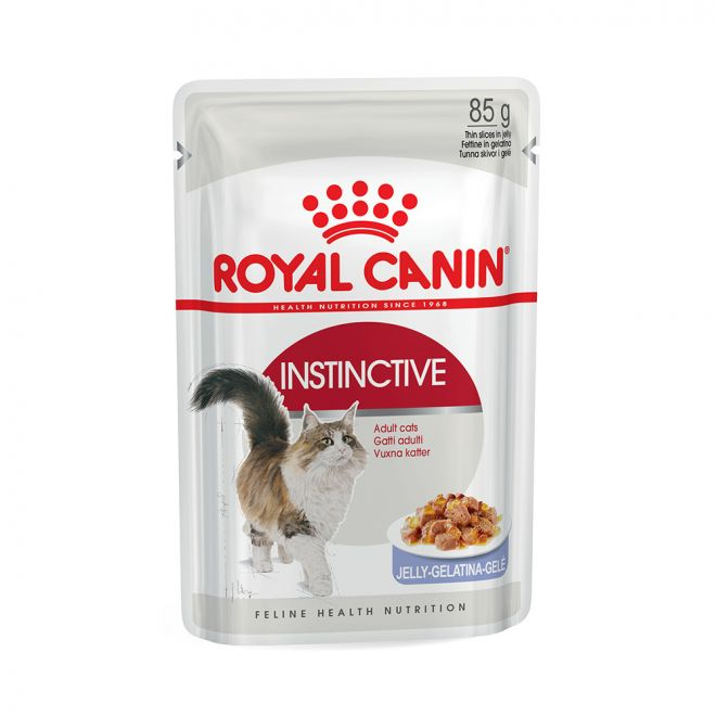 Royal Canin Instinctive in Jelly (85 gram)**
