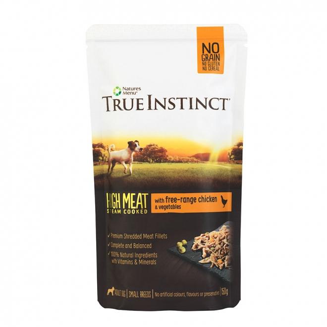 TrueInstinct Dog kyckling 150 g