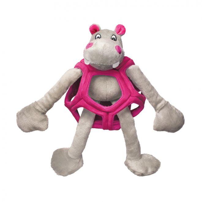 KONG Puzzlements Hippo S (Mångfärgad)**