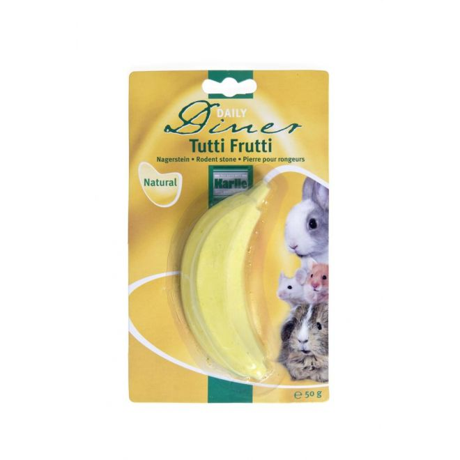 Gnagarsten vit. banan stor