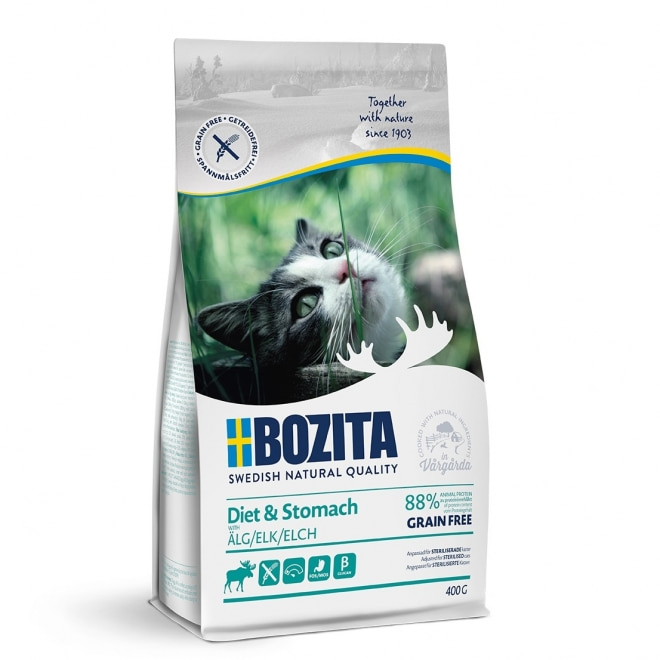 Bozita Diet & Stomach Grain Free Elk (400 g)