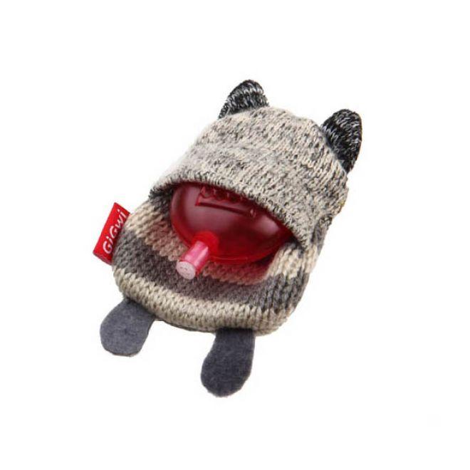 GiGwi PlushFriendz Knitted Tvättbjörn (Grå)