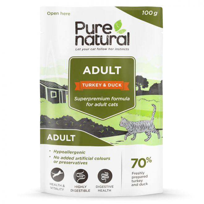 Purenatural Cat Adult Turkey & Duck 100 g