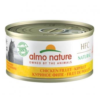 Almo Nature HFC -kissan märkäruoka, kanafile 70 g