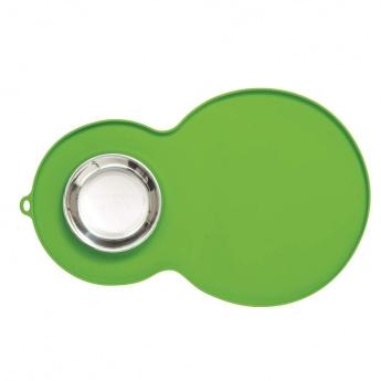Catit Peanut silikonialusta kupilla, vihreä