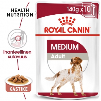 Royal Canin Medium Adult Wet 10x140g