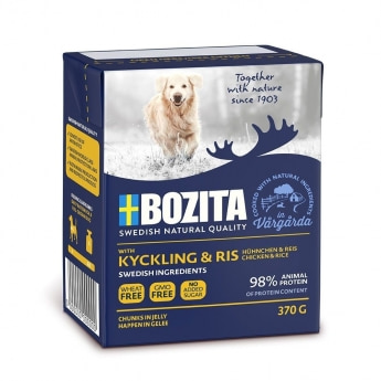Bozita Naturals kana & riisi 370g
