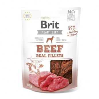 Brit Care Jerky naudanlihafile (80 g)