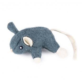 Little&Bigger Wool hiiri (Harmaa)