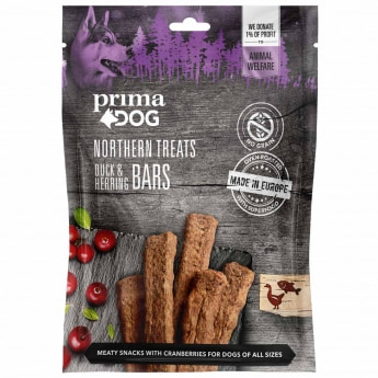 Prima Dog Northern Treats Ankka-silli (80 g)