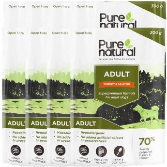 Purenatural Adult kalkkuna&lohi 8 x 300g