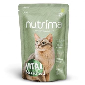 Nutrima Cat Vital Sterilised märkäruoka 85 g
