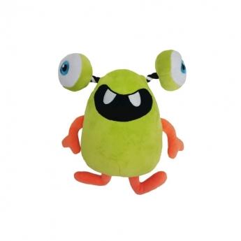 Koiran lelu Bark-a-Boo HocusPocus PullThru hirviö vihreä (31 cm)