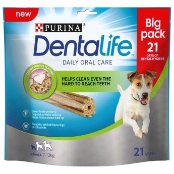 Dentalife Small Big Pack, 21 purutikkua 345 g