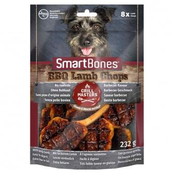 Smartbones BBQ lampaankyljys 8kpl 232g