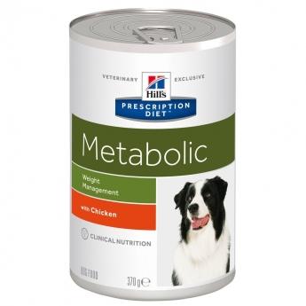 Hills Diet Dog Metabolic can 12x370g