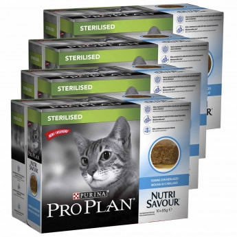 Pro Plan Sterilised Cod Multipack 4 x 10 pss / á 85 g