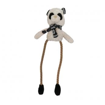 Koiran lelu Bark-a-Boo Scandi LongRopeLimb panda L