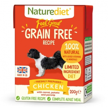 Naturediet Grain Free kana (200 g)