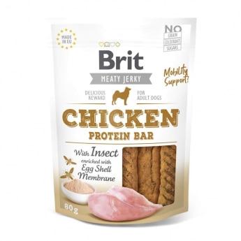 Brit Care Jerky Protein Bar kana ja hyönteiset