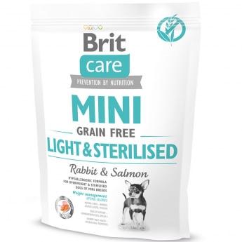 Brit Care Mini GF Light&Sterilised (400 g)