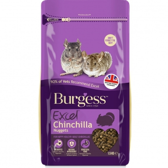 Burgess Excel Chinchilla, 1,5kg