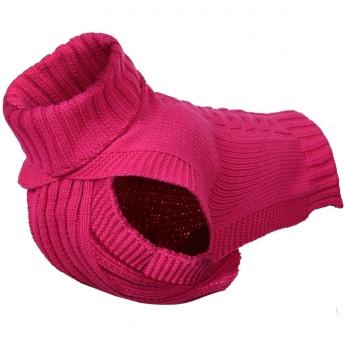 Rukka Wooly koiran neule, pinkki