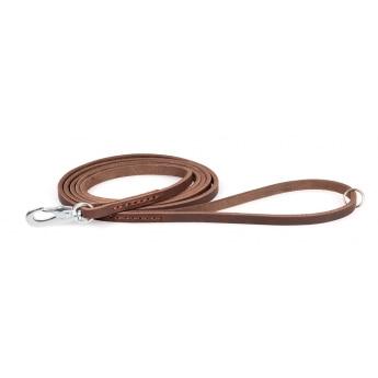Nahkatalutin Feel Leather Seam, ruskea