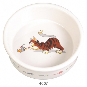 Keraaminen kuppi Trixie Cat & Mouse