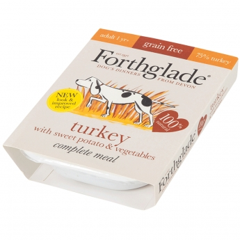 Forthglade Complete Adult Turkey GF 395g