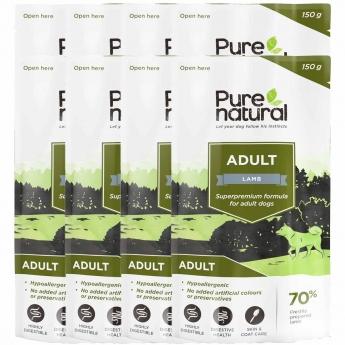 Purenatural Adult lammas 8 x 150g