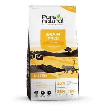 Purenatural Cat Grain Free Kitten Chicken