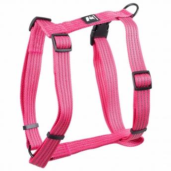 Koiran valjaat Feel Active Weave, pinkki
