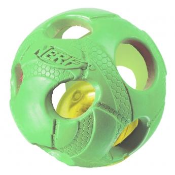 Nerf LED koiran lelu Bash pallo