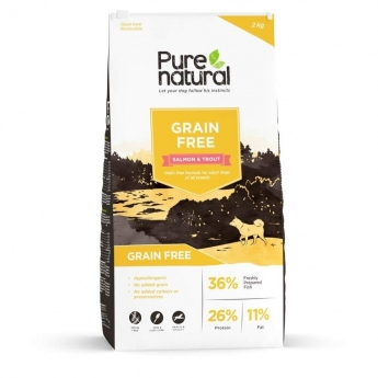 Purenatural Adult Dog Grain Free Salmon (2 kg)