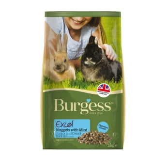 Burgess Excel Rabbit Junior & Dwarf, 2 kg