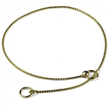 Näyttelykaulain Show Dog Snake, kulta 2 mm