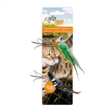 Kissanlelu AFP Cat Bait Refill hyönteiset 2-pack