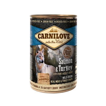Carnilove Wild Meat lohi & kalkkuna 400g