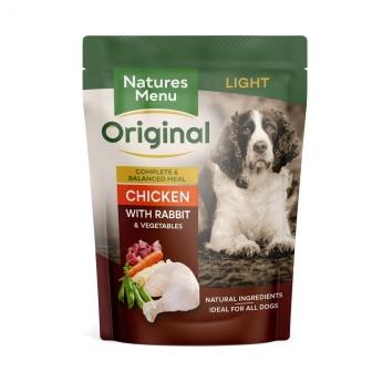 Natures:Menu Dog Light 300g
