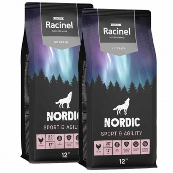 Racinel Nordic Sport&Agility Chi. 2 x 12kg