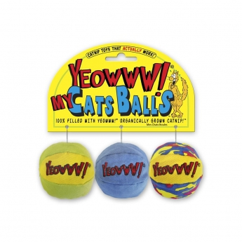 Kissanminttulelu Yeowww! 3 palloa