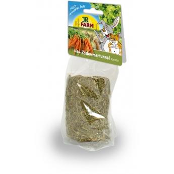 Jr Farm heinätunneli, sisällä porkkanaa