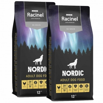 Racinel Nordic Adult Chicken 2 x 12kg