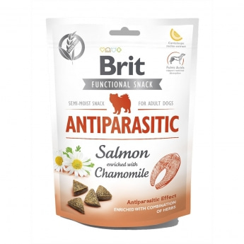 Brit Care Functional Snack Antiparasit lohi 150 g